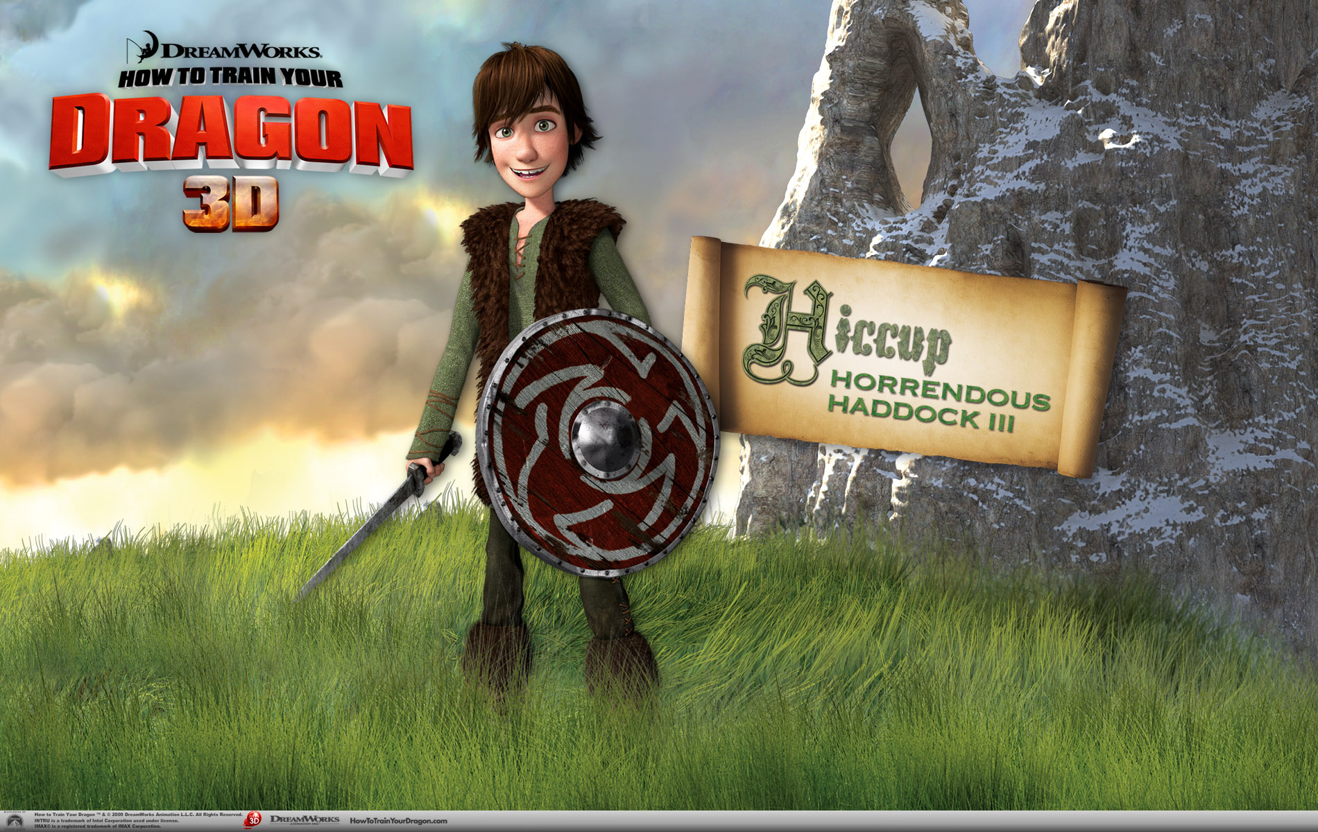 Hiccup The Viking Wallpaper