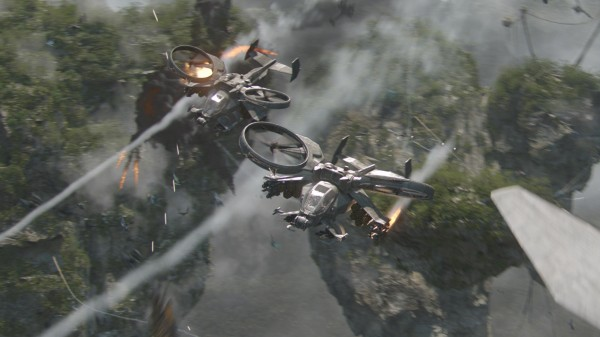 helicopter shooting combat