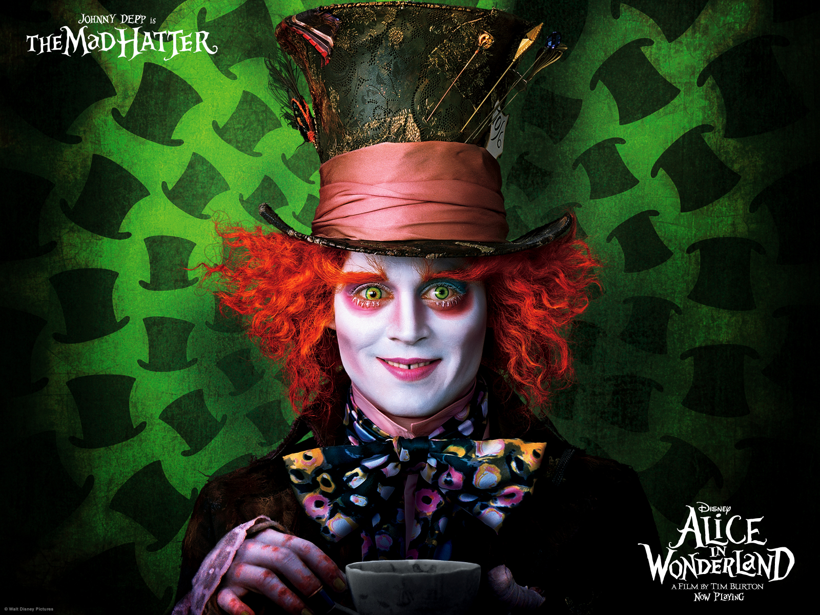 The Mad Hatter amp Aurora Facial Syncronicity Alternative