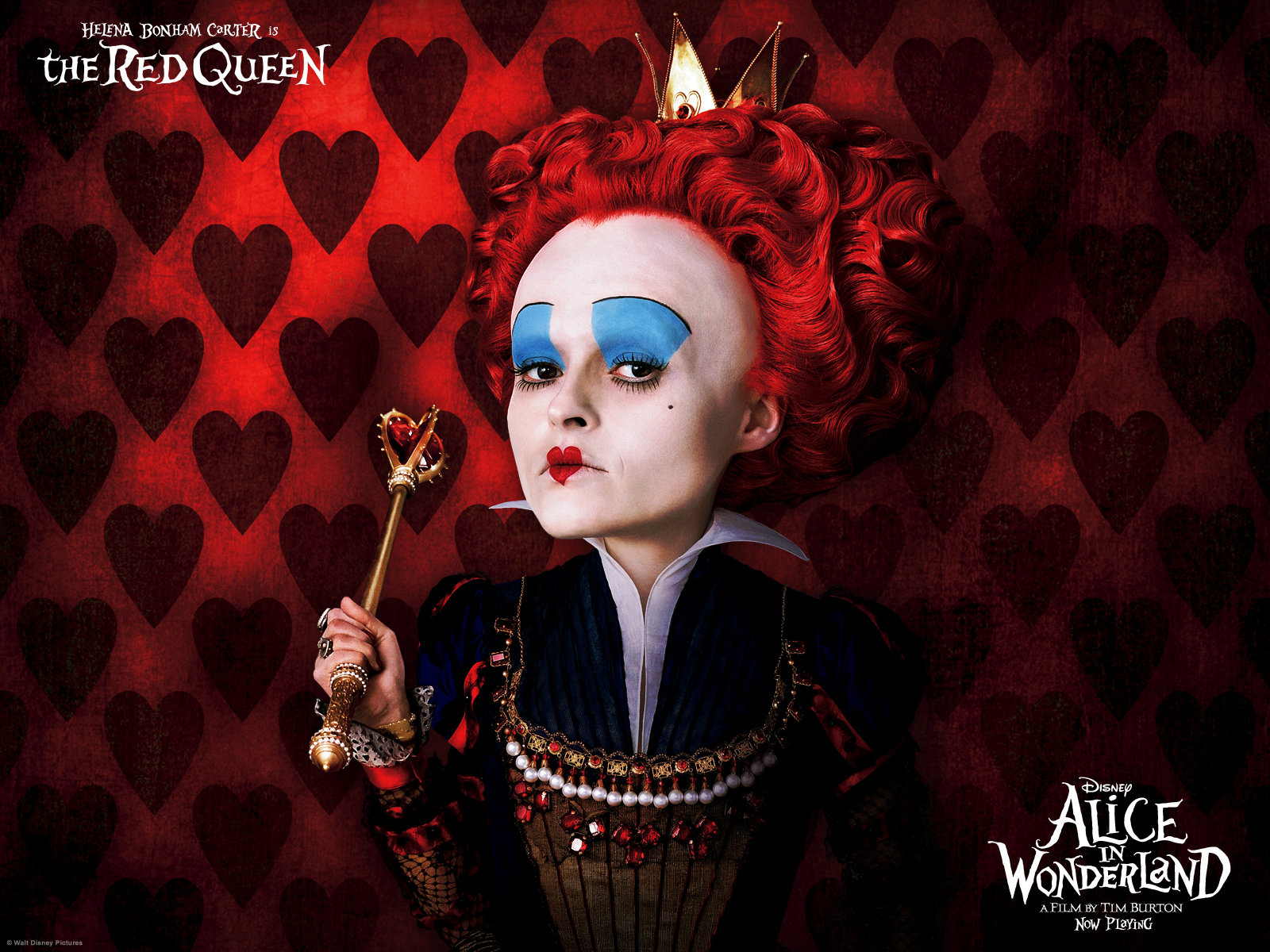 red queen in alice in wonderland actress