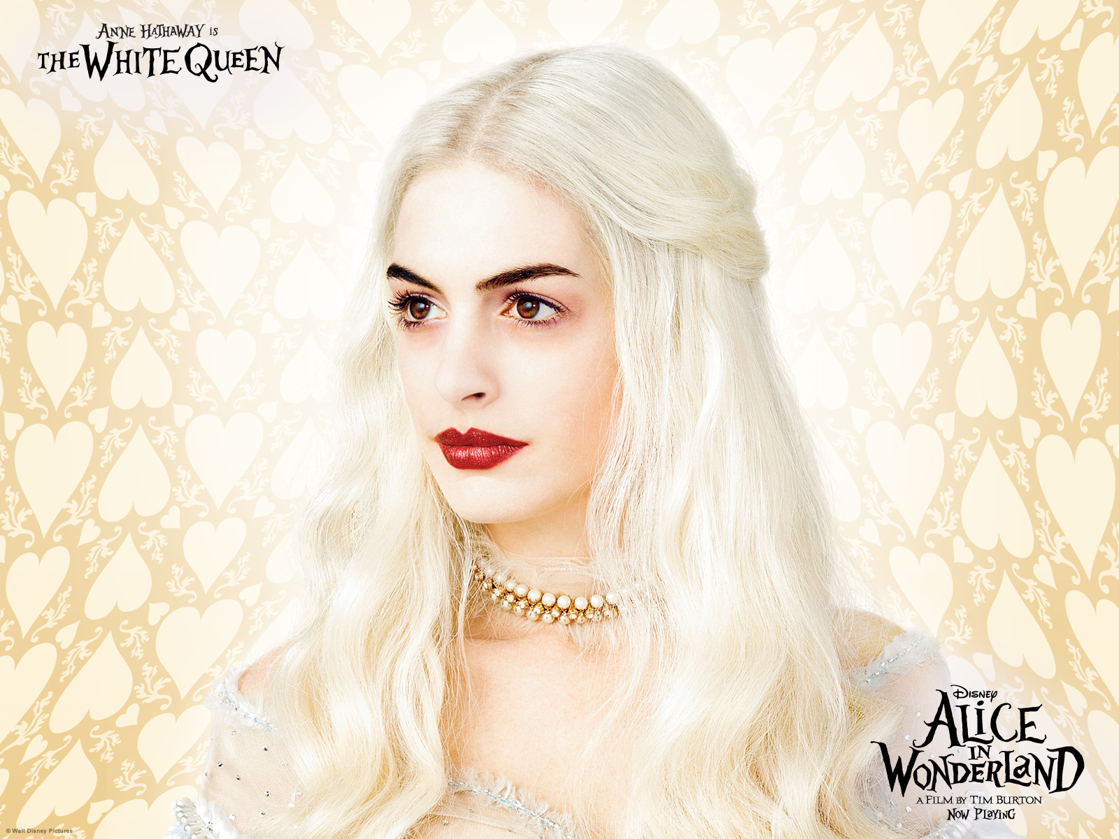 anne hathaway white queen - photo #16