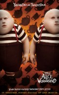 tweedledee and tweedledum from alice in wonderland