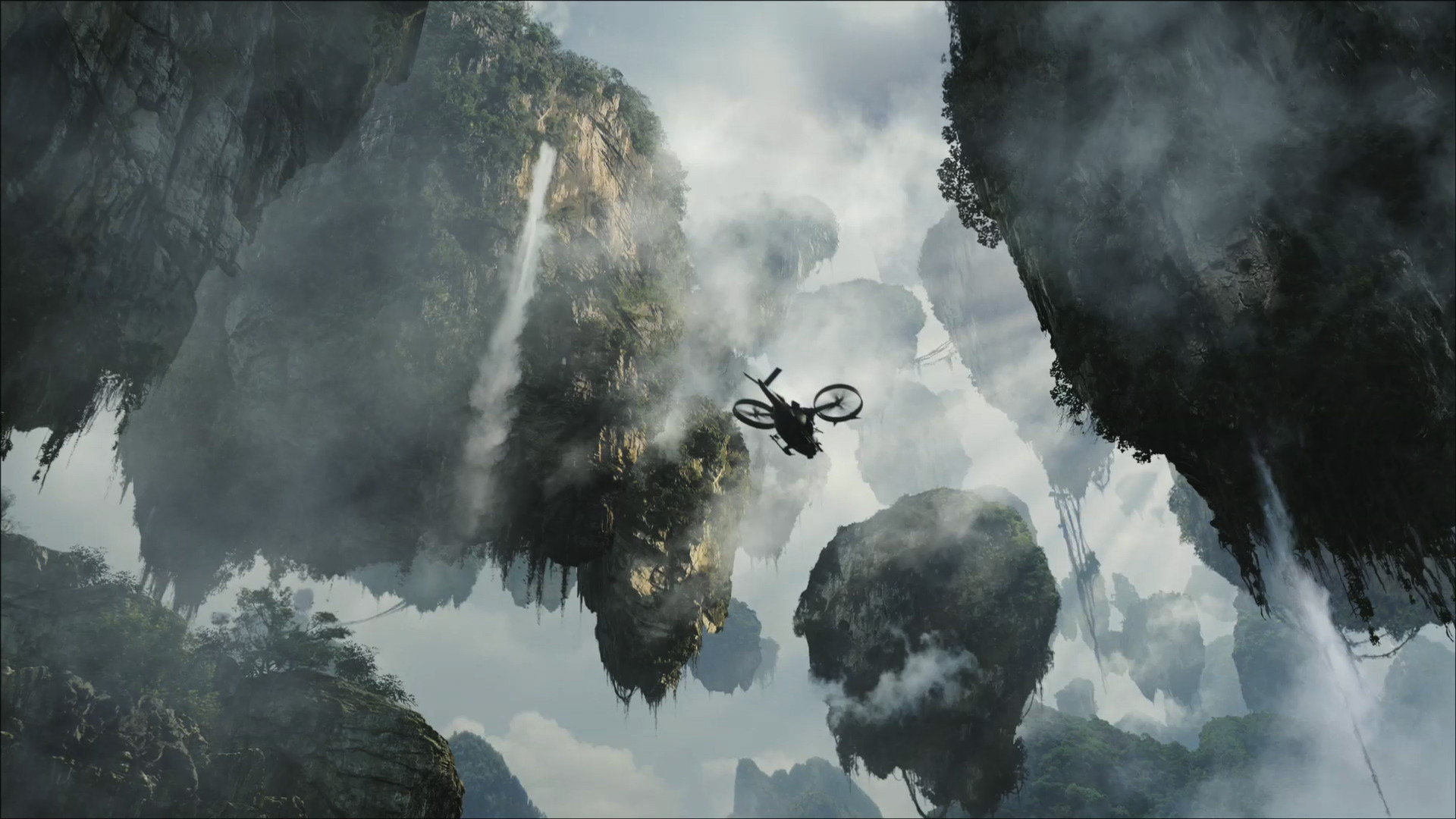 Floating Mountains Islands On Pandora From Avatar Wallpaper