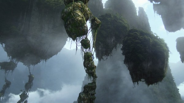 floating mountains/islands on Pandora