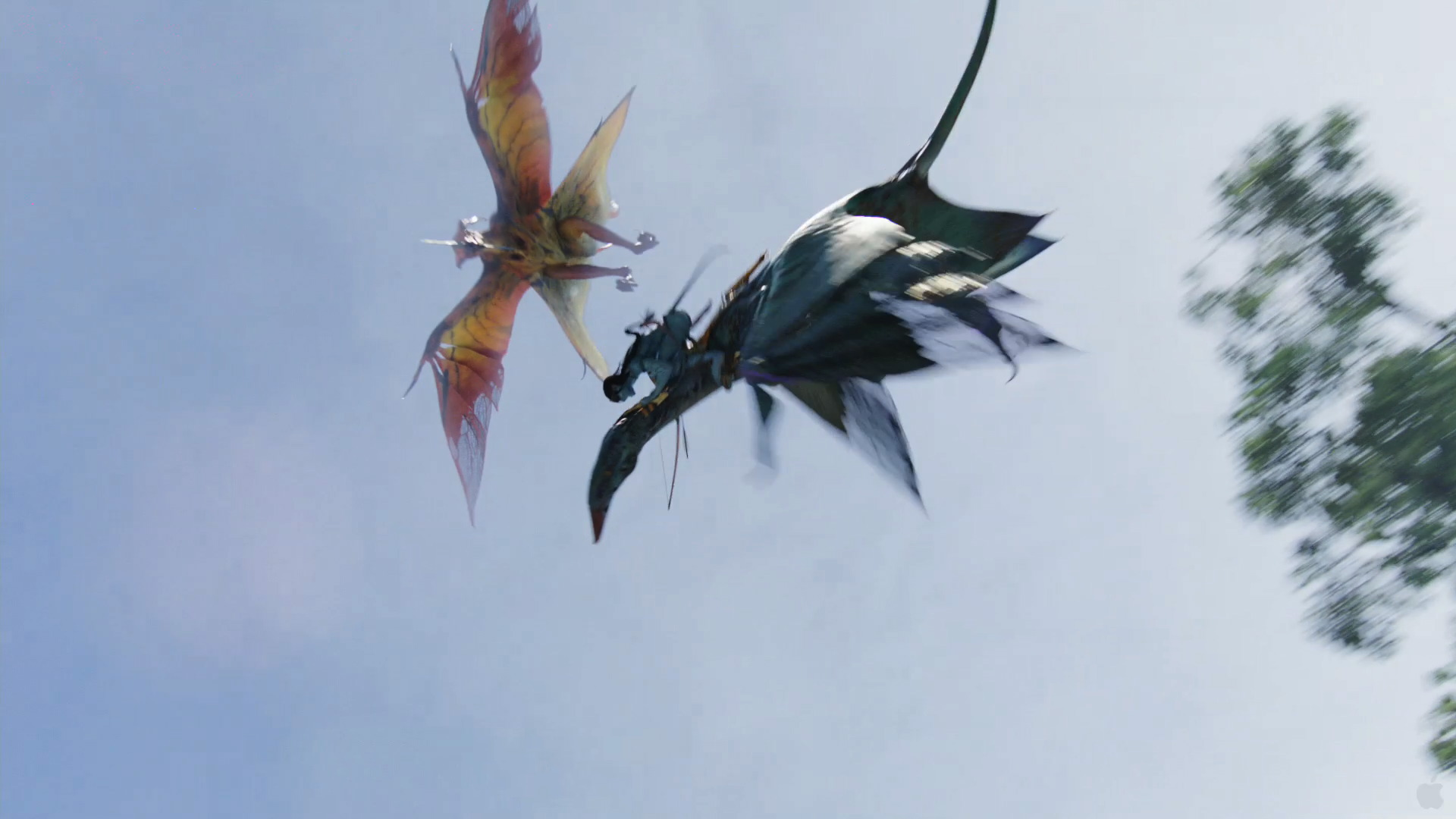 Great leonopteryx attack from avatar wallpaper - click picture for