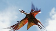 great leonopteryx creature flying in the sky