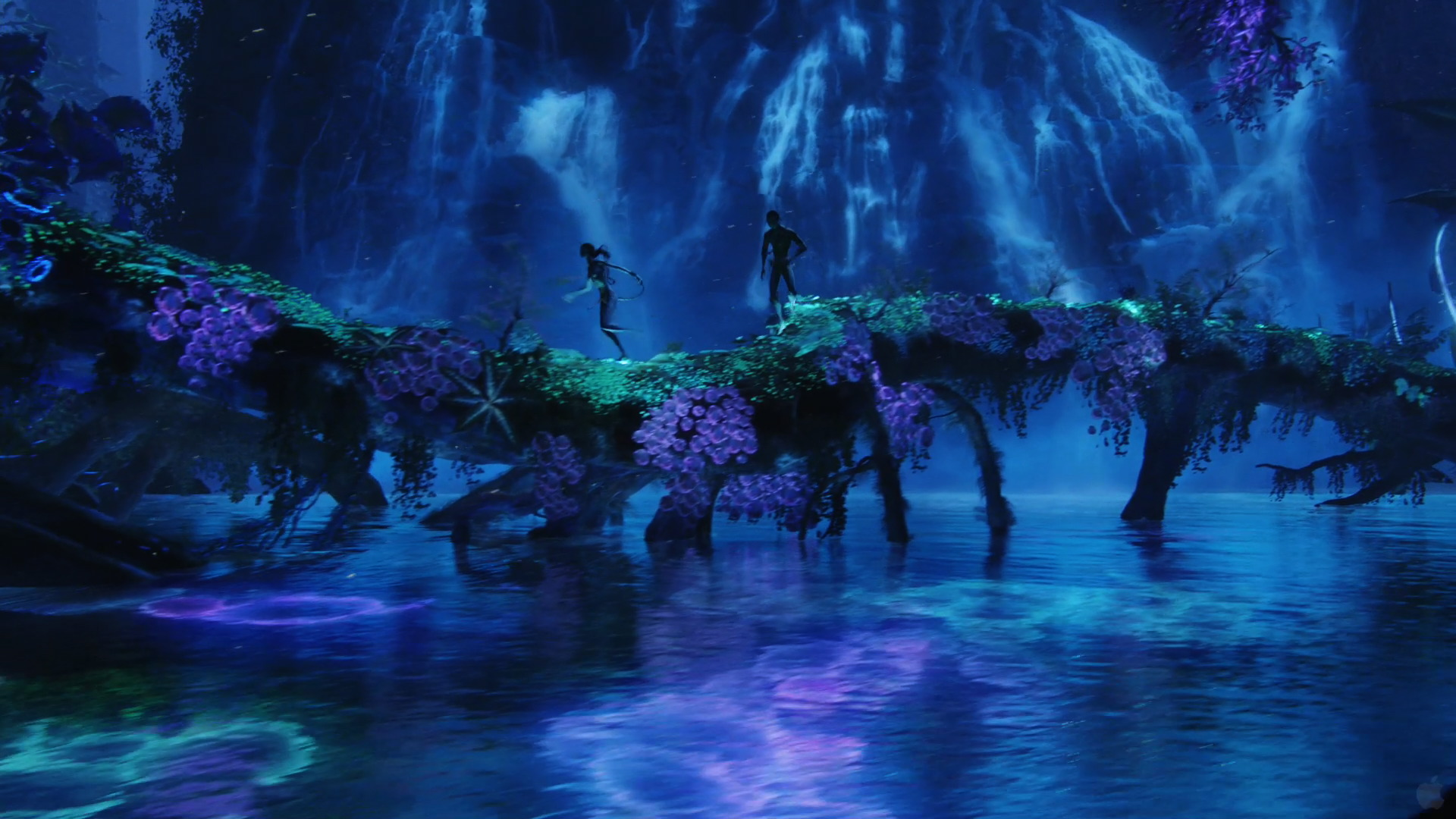 Avatar Movie Pandora Blue Lagoon from Avatar