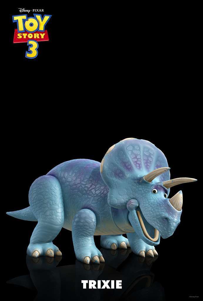 Trixie the Blue Triceratops from Toy Story wallpaper - Click picture for high resolution HD wallpaper