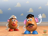 mr and mrs potato head toys from toy story