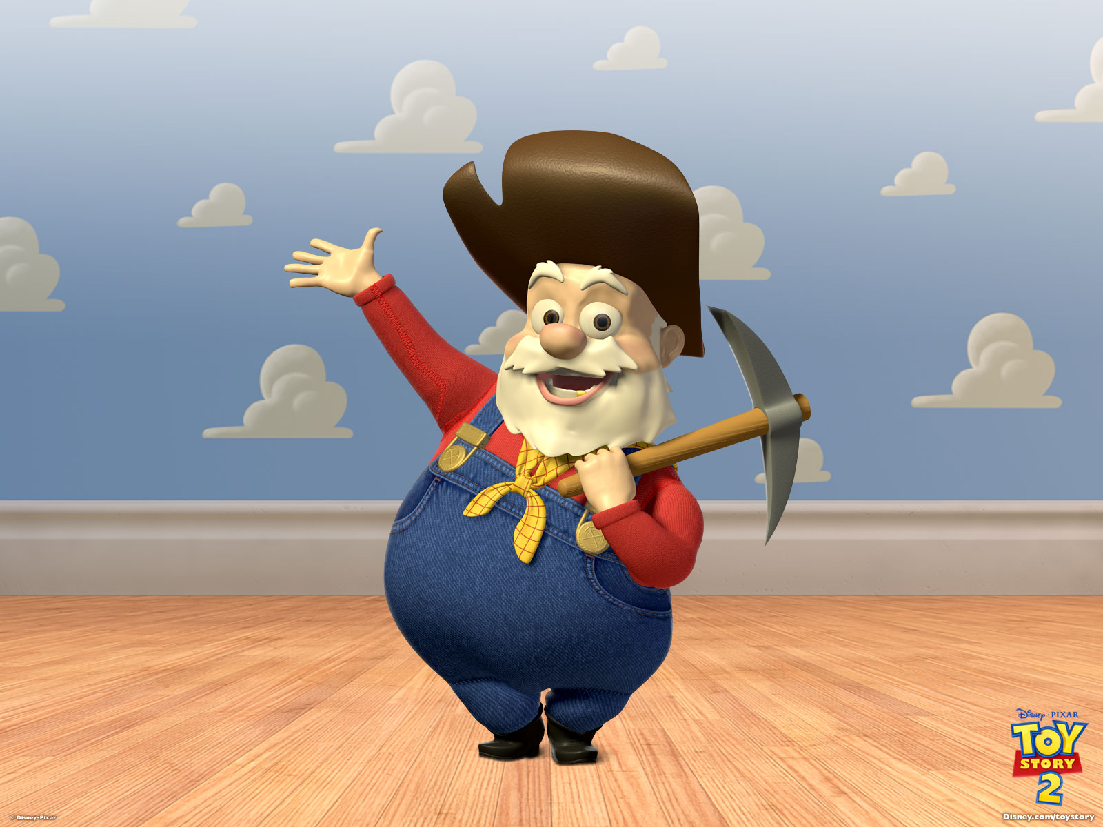 The Prospector From Toy Story Desktop Wallpaper