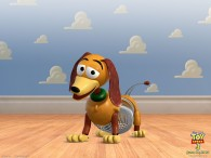 slinky dog toy from toy story
