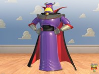 evil emperor zurg action figure from toy story