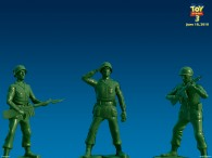 the green army men from toy story