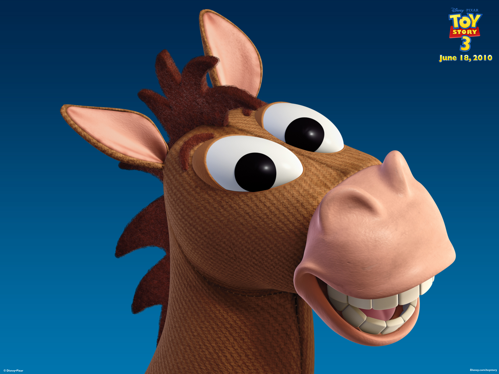 bullseye the horse from toy story desktop wallpaper
