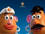 mr and mrs potato head from toy story