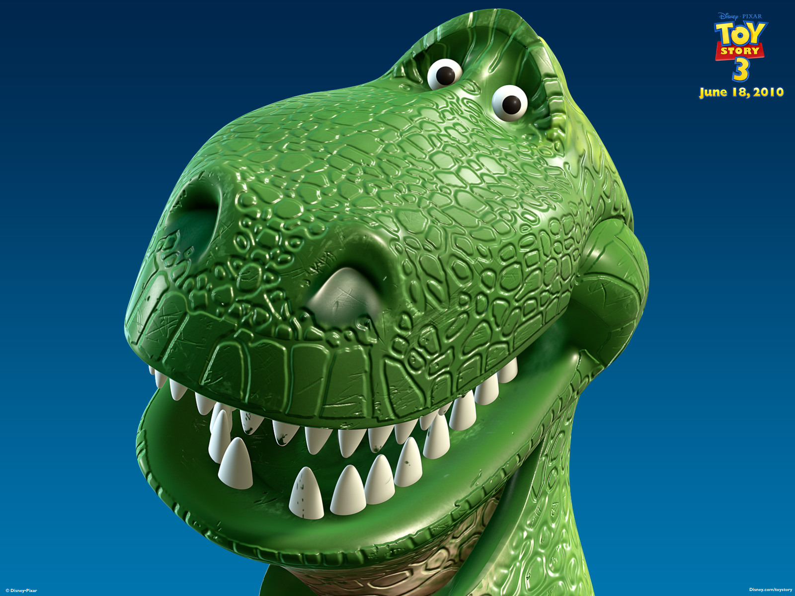 Toy Story Dinosaur : Rex the t from toy story desktop wallpaper