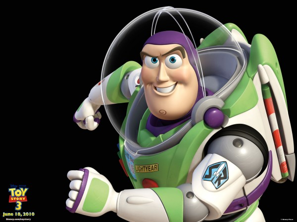 buzz lightyear action figure from toy story