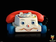 telephone toy on wheels from toy story 3