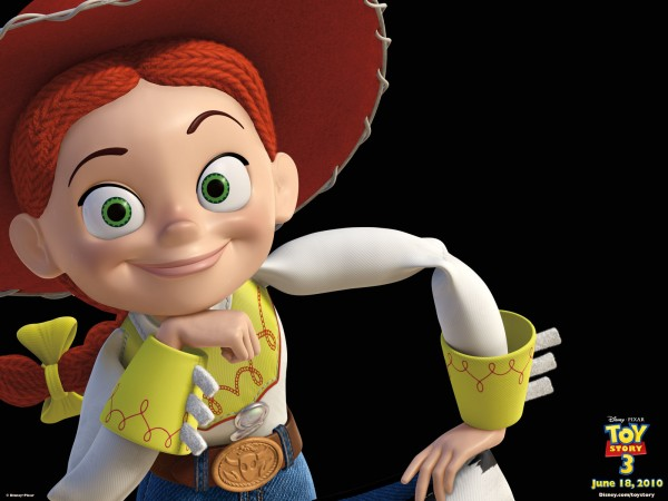 jessie the cowgirl doll action figure from toy story