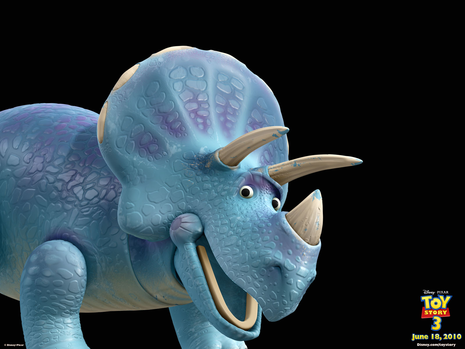 Trixie the Triceratops from Toy Story 3 wallpaper - Click picture for high resolution HD wallpaper