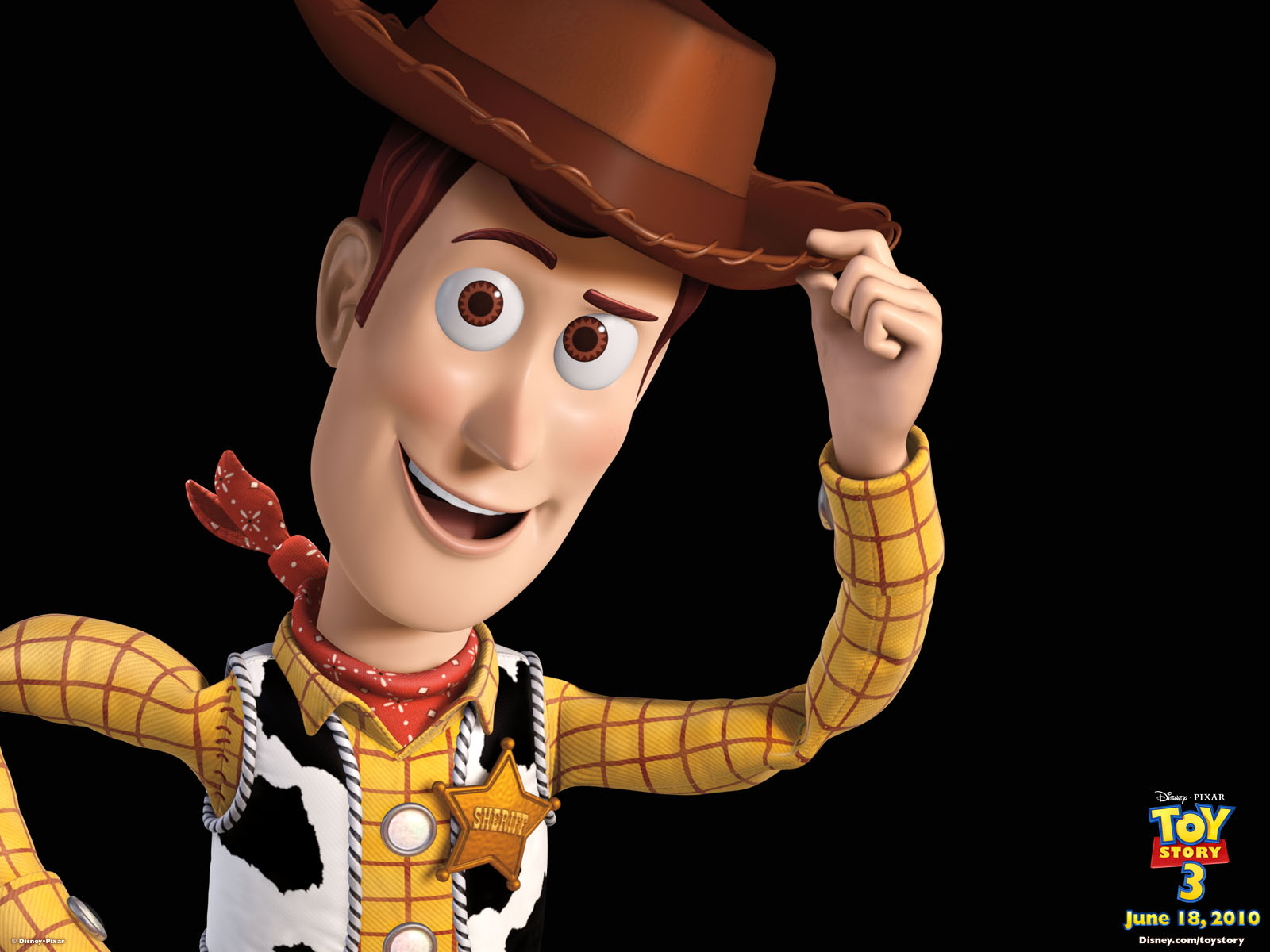 Woody from Toy Story Desktop Wallpaper