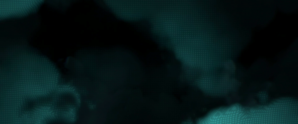 digitized looking clouds from the world of tron legacy