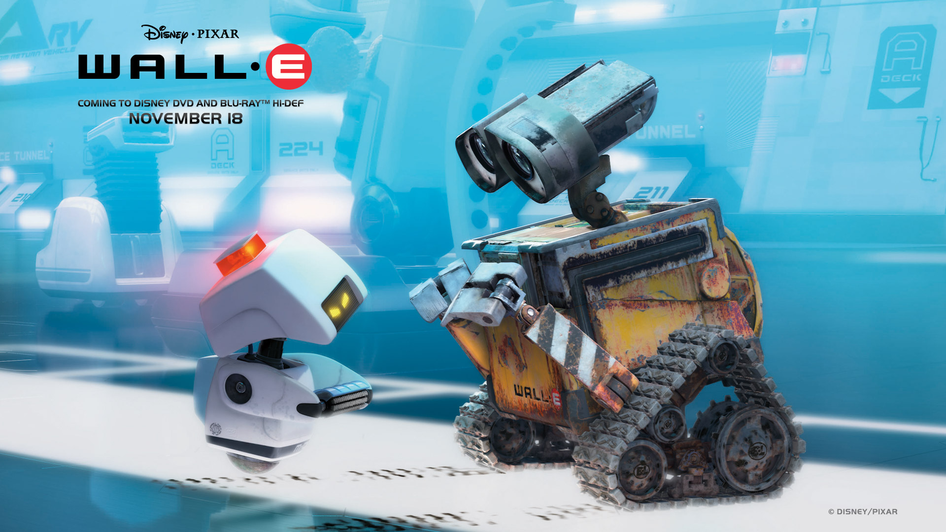 wall-e the robot desktop wallpaper