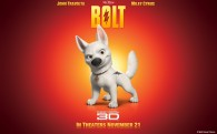 the German Shepherd dog Bolt from the Disney movie Bolt