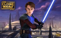 wallpaper photo of jedi anakin skywalker holding a light saber