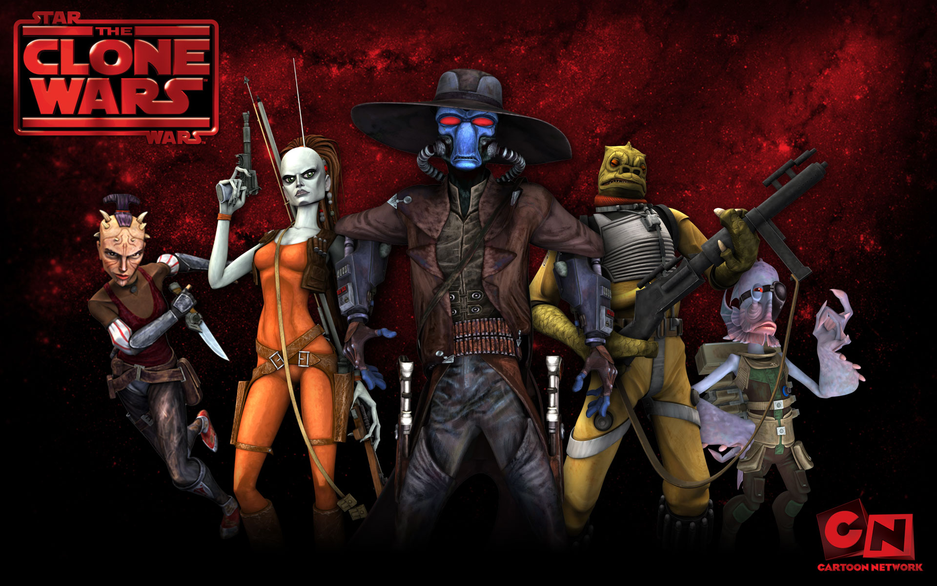 Star wars the clone wars season 2 wallpaper