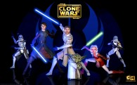 a group of jedis that appears in the clone wars series based on star wars