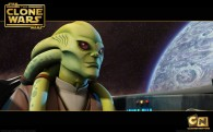wallpaper image of jedi master kit fisto from the clone wars