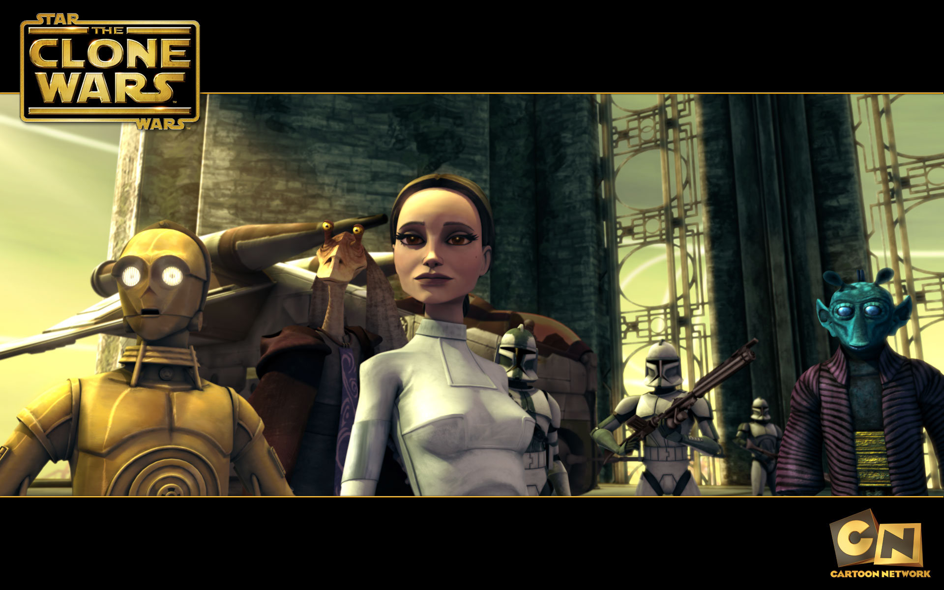 Padme Amidala From The Clone Wars Desktop Wallpaper