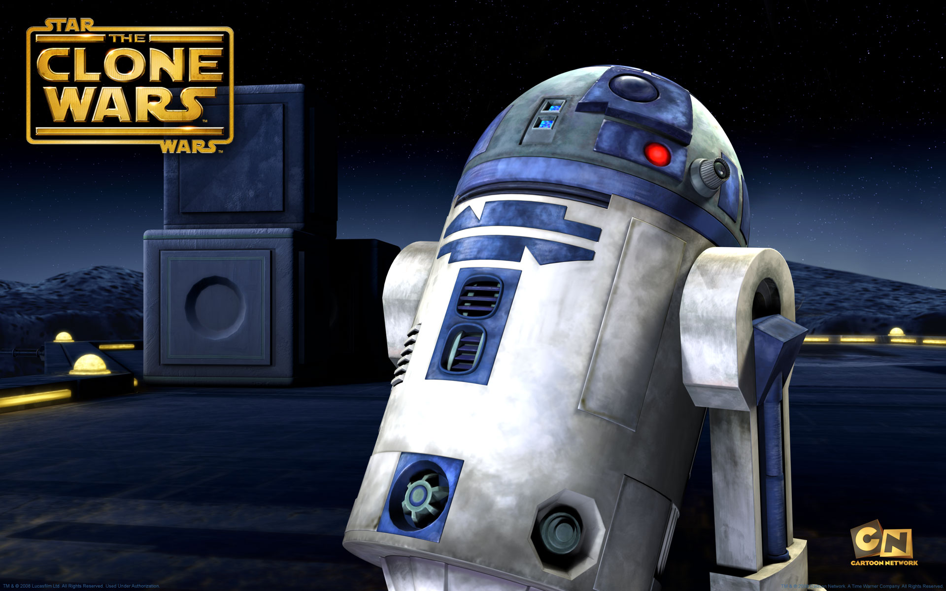Star wars the clone wars r2d2 wallpaper