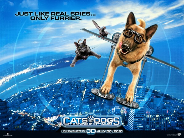 wallpaper picture of Diggs the dog from the movie Cats and Dogs Revenge of Kitty Galore