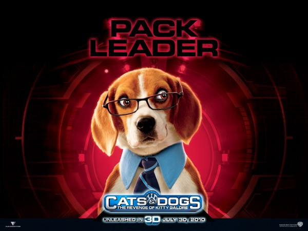 wallpaper picture of Lou the dog from the movie Cats and Dogs Revenge of Kitty Galore