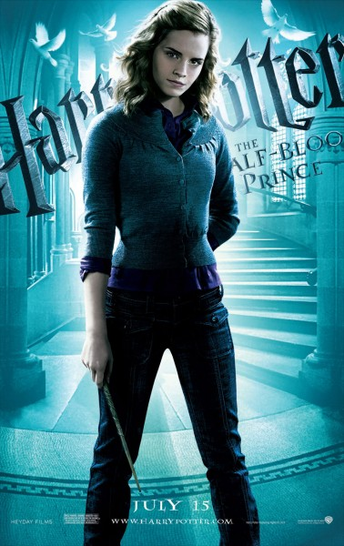 hermione granger from half blood prince poster