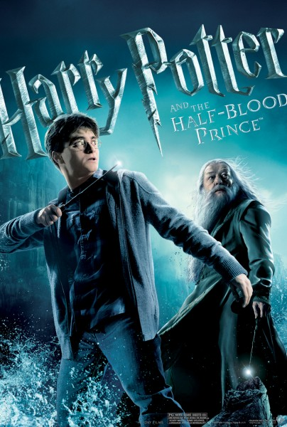 harry potter and dumbledore from half blood prince