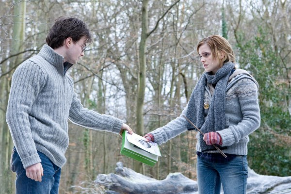 harry potter and hermione granger in a scene from Harry Potter and the Deathly Hallows