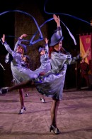 Beauxbaton witches perform