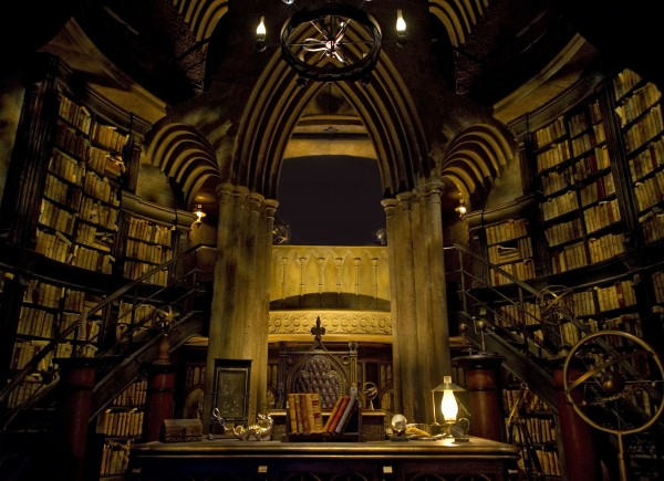 interior of Dumbledore's office