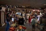 interior of Filch's Emporium shop