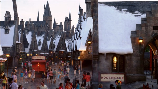 the town of hogsmeade