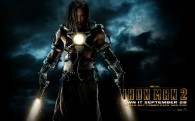 Ivan Vanko from Iron Man 2 wearing armor