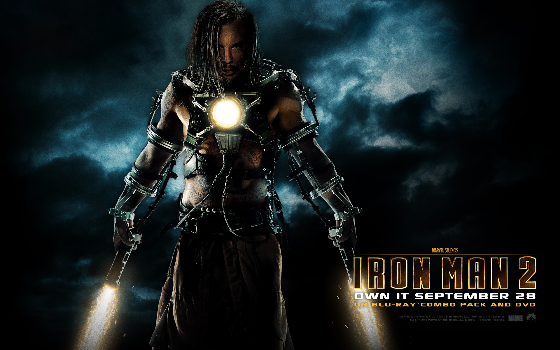 Ivan Vanko from Iron Man 2 wallpaper - Click picture for high resolution HD wallpaper