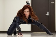 NATASHA ROMANOFF played by SCARLETT JOHANSSON in Iron Man 2