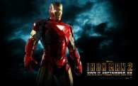 Tony Stark from Iron Man 2 wearing the Iron Man armor