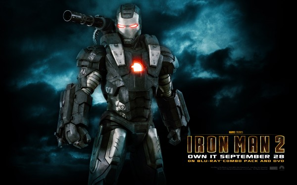 The War Machine armor from Iron Man 2