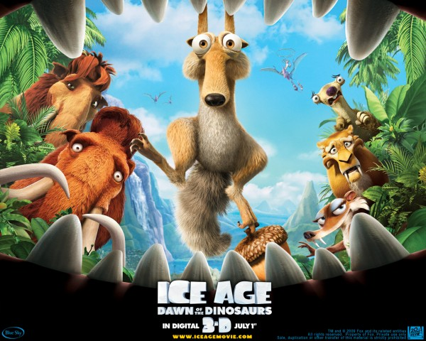 cast of the movie ice age 3