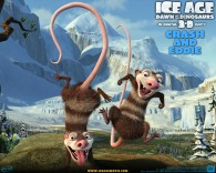 two opossums from the ice age